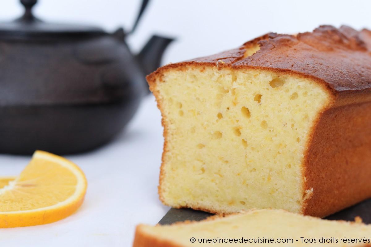 Cake aux agrumes citron et orange une pinc e de cuisine for En cuisine qu est ce qu une girolles