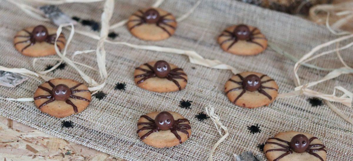 Sablés araignées d'Halloween