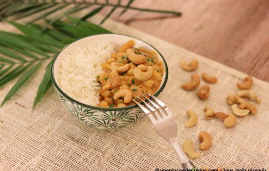 Curry de pois chiches végétarien et végétalien