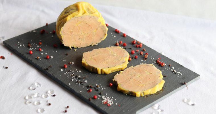 Foie gras maison à la vapeur (recette réalisée au Cook Expert)