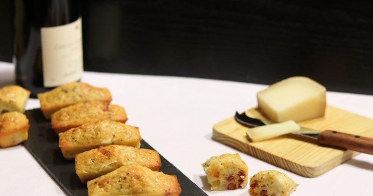 Mini cakes au chorizo et fromage de brebis