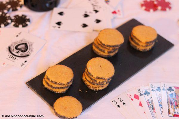 biscuits au parmesan et au pavot Ottolenghi