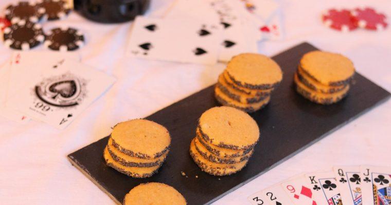 Biscuits au parmesan et au pavot selon Ottolenghi