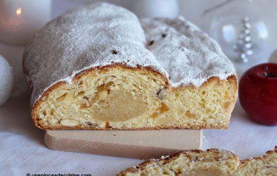 Stollen ou Christstollen, gâteau de Noël allemand