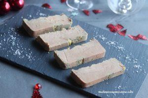 Foie gras maison mi-cuit en terrine