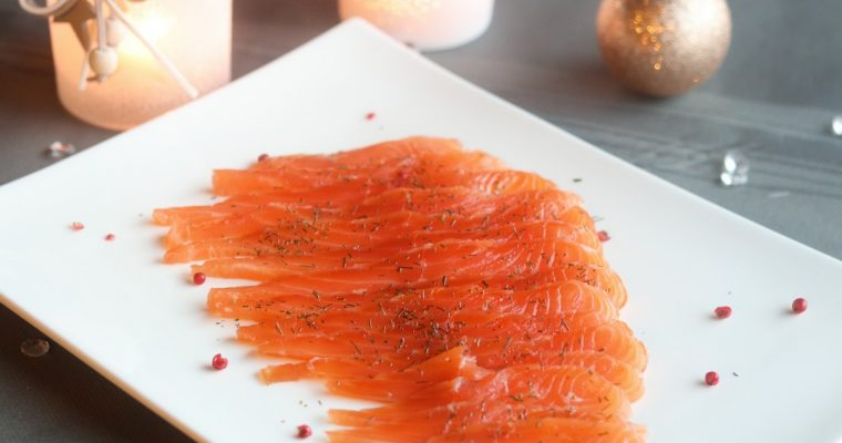 Gravlax de saumon maison super facile