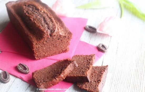 Cake au chocolat Valrhona extra moelleux