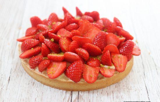 Tarte aux fraises qui déchire tout (au Cook Expert)