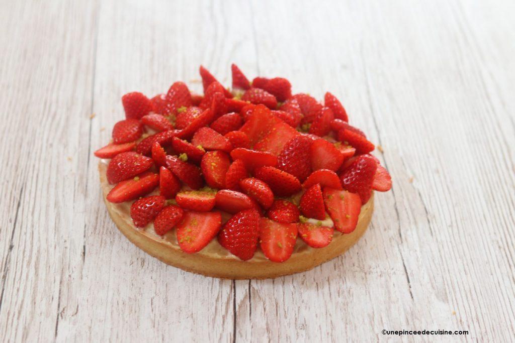 Tarte aux fraises qui déchire tout