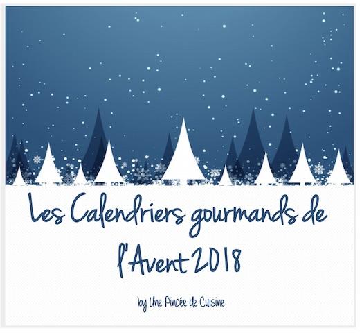 Calendriers gourmands de l'Avent 2018