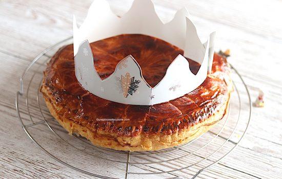 Galette des rois frangipane (recette Cook Expert) façon Philippe Conticini