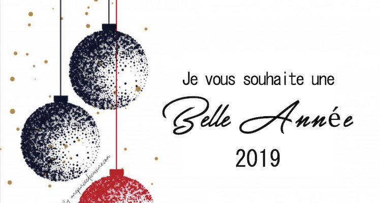 Une très belle année 2019