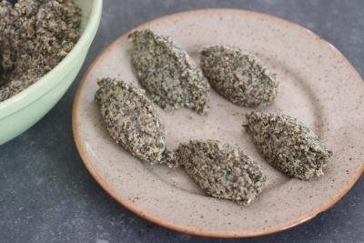 falafels de lentilles germées
