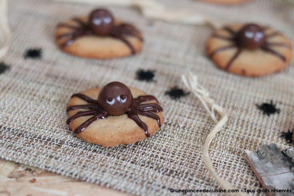 Sables araignées d'Halloween