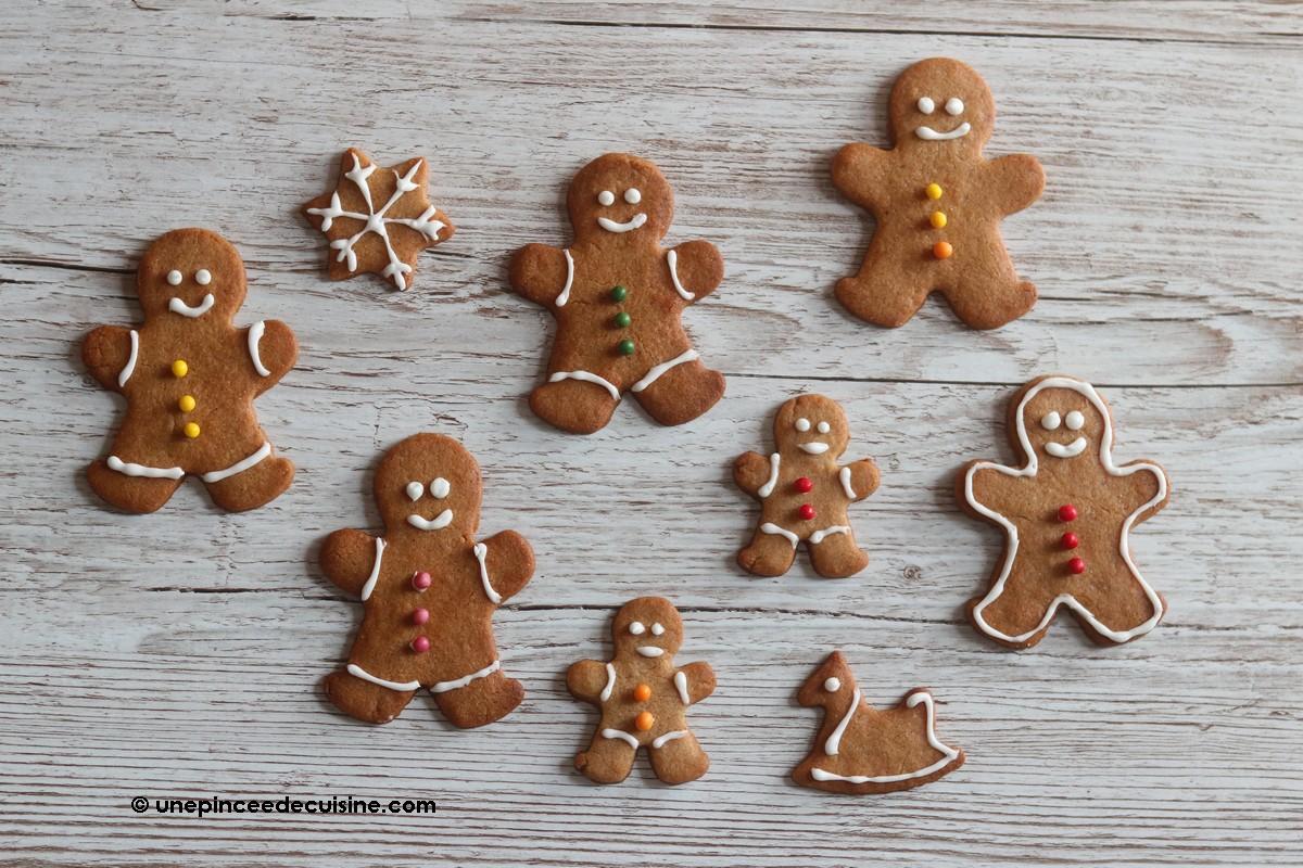 Petits biscuits bonhommes pain d'épices