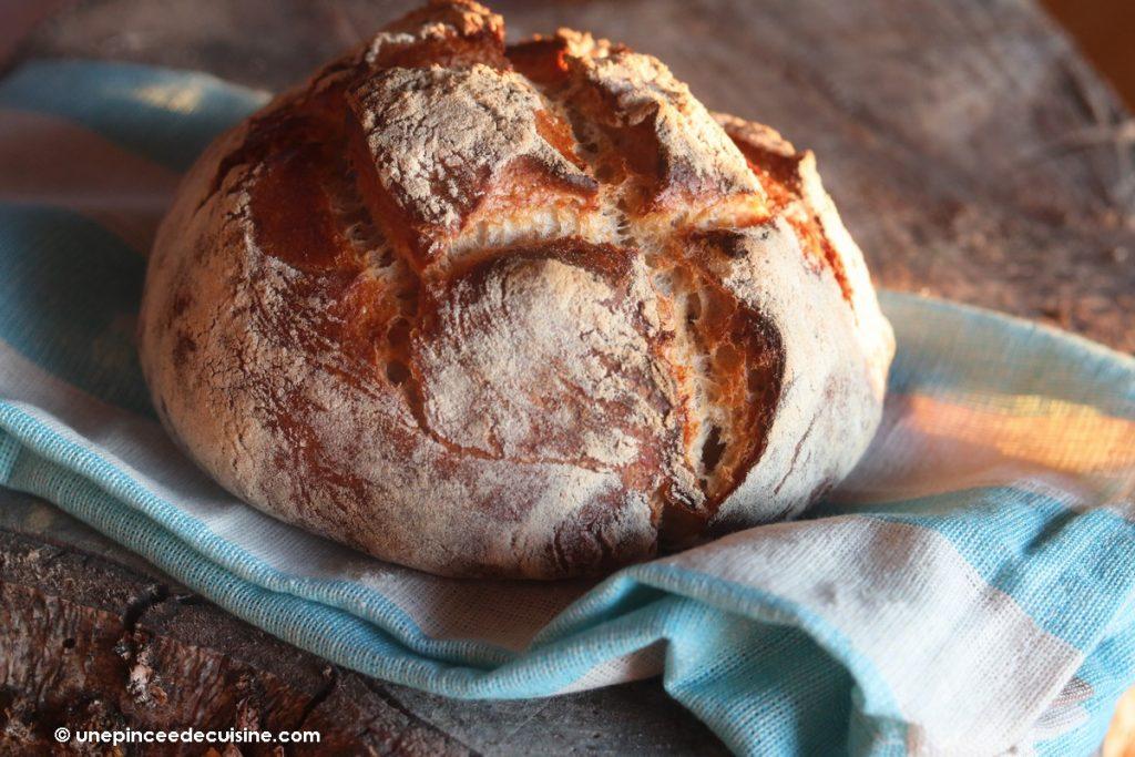 pain au levain maison