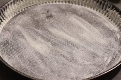 Tatin d'endives caramélisées au crottin de chèvre