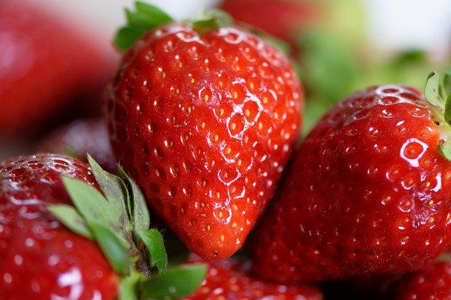 tarte rustique rhubarbe et fraises